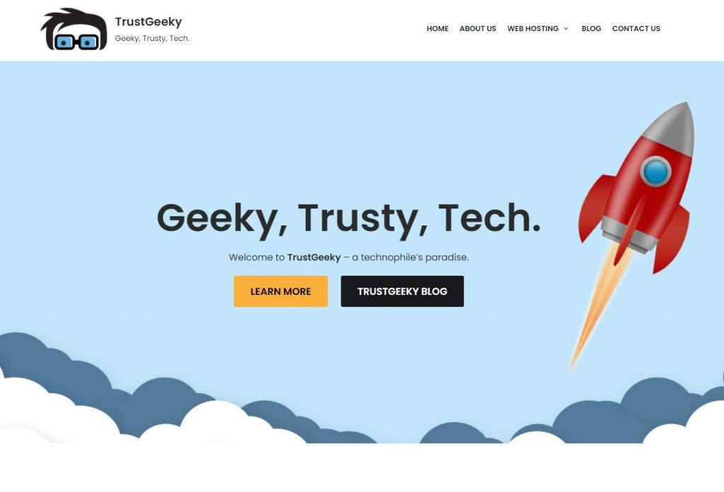 TrustGeeky: Geeky, Trusted, Tech