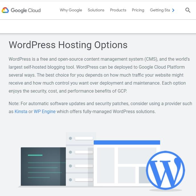 Google Cloud WordPress Hosting - TrustGeeky