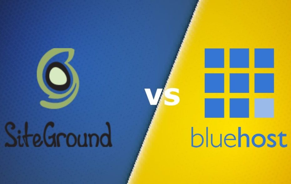 SiteGround vs Bluehost Comparison