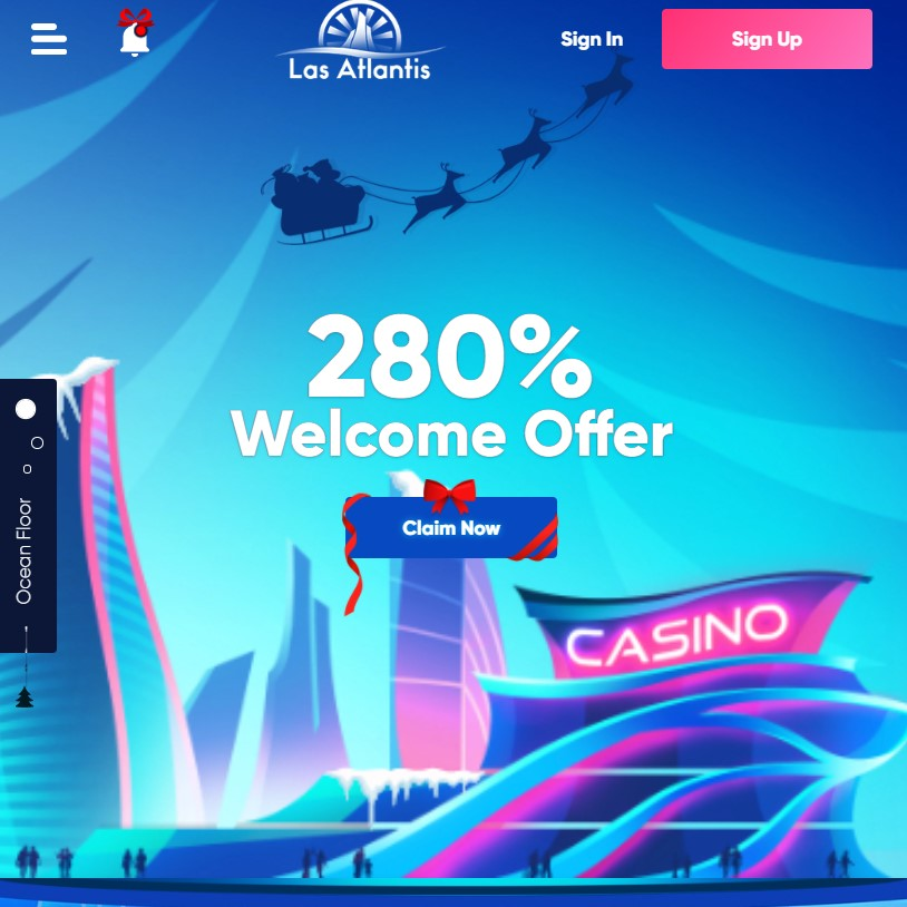 Las Atlantis Online Casino Real Money Games