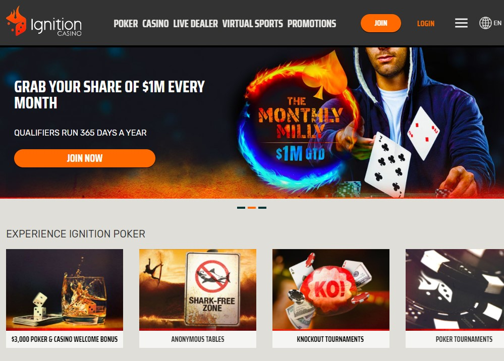 Ignition Casino Poker