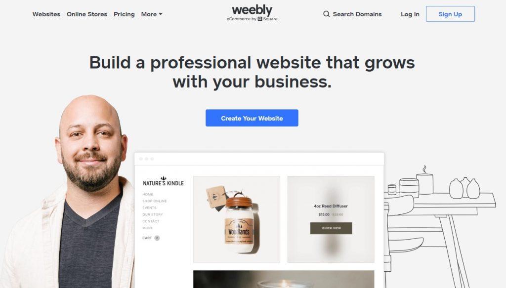 Weebly Web Hosting