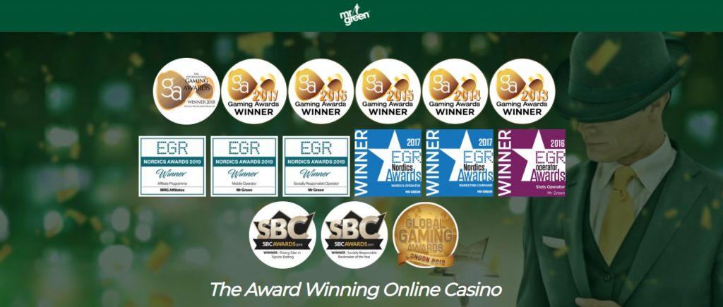 Mr Green Award Winning Online Casino